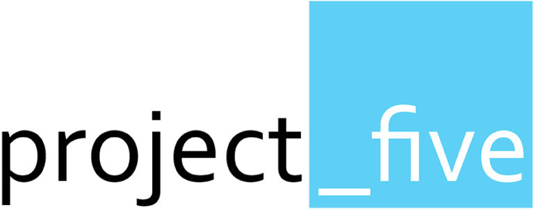 Project Five Management Consultants for Engineering & Construction Logo